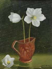 THE FIRST CHRISTMAS ROSE by Padraig Lynch at Ross's Auctions