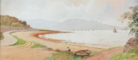 BELFAST LOUGH, CRAIGAVAD by Joseph William  Carey RUA at Ross's Auctions