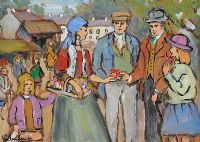 TRAVELLER FAIR DAY by Gladys Maccabe HRUA at Ross's Auctions