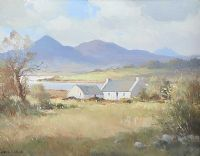 NEAR BALLYKINLER, COUNTY DOWN by Maurice Canning  Wilks ARHA RUA at Ross's Auctions