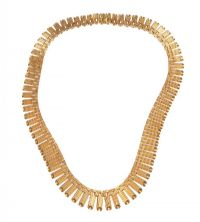 FRENCH 9CT GOLD COLLAR at Ross's Auctions