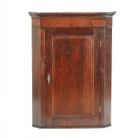 ANTIQUE HANGING CORNER CABINET at Ross's Auctions