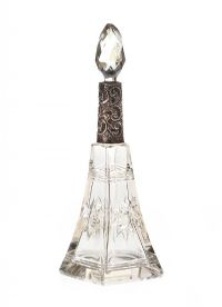 SILVER MOUNTED PERFUME BOTTLE at Ross's Auctions