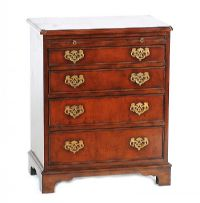 MAHOGANY CHEST OF DRAWERS at Ross's Auctions