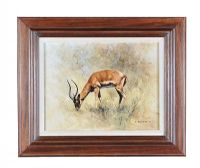 DAVID SHEPHERD, 'IMPALA' at Ross's Auctions