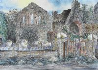THE GREY ABBEY by Anne Anderson at Ross's Auctions