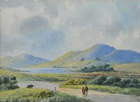 STROLLING IN THE MOURNES by Ursula Spry at Ross's Auctions