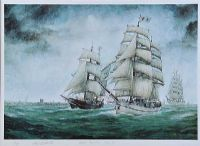BELFAST TALL SHIPS by Patrick J. Lynch at Ross's Auctions