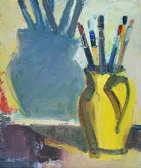 YELLOW JUG by Brian Ballard RUA at Ross's Auctions