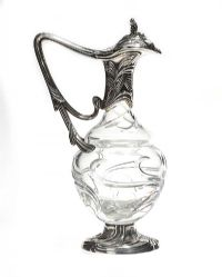 TOPAZIO STERLING SILVER MOUNTED CLARET JUG at Ross's Auctions