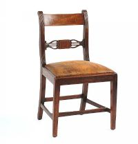 ANTIQUE MAHOGANY SIDECHAIR at Ross's Auctions
