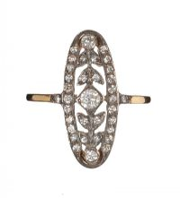 18CT GOLD AND DIAMOND RING at Ross's Auctions