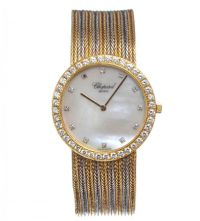 CHOPARD 18CT GOLD AND DIAMOND GENT'S WRIST WATCH at Ross's Auctions