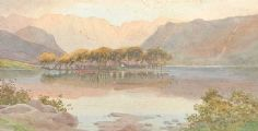 GOUGANE BARRA by Joseph William  Carey RUA at Ross's Auctions