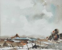 WINTER LANDSCAPE by Joan Murray at Ross's Auctions