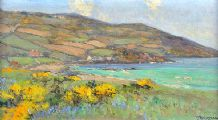 ON THE ANTRIM COAST by James Humbert Craig RHA RUA at Ross's Auctions