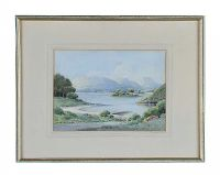 WATERCOLOUR DRAWING SIGNED G.W. MORRISON at Ross's Auctions