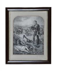 BLACK & WHITE ENGRAVING at Ross's Auctions