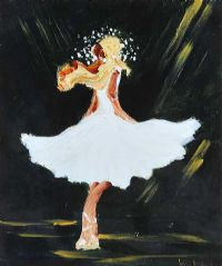 THE DANCER by Louise Mansfield at Ross's Auctions