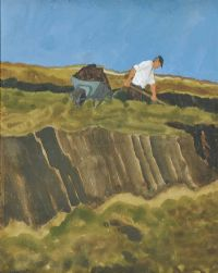 TURF CUTTER by James Macintyre RUA at Ross's Auctions