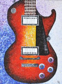 GUITAR by Hannah Brown at Ross's Auctions