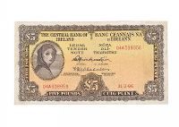 LADY LAVERY FIVE POUND NOTE at Ross's Auctions