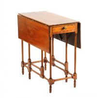 MAHOGANY GATE LEG TABLE at Ross's Auctions