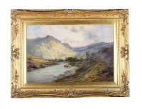 MORNING, THE DUNKELD VALLEY by Alfred De Breanski Senior at Ross's Auctions