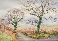 TREES BY THE LANE by Frank Egginton RCA FIAL at Ross's Auctions