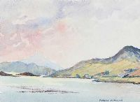 EVENING LIGHT, COUNTY MAYO by Victoria McMillan at Ross's Auctions