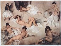 FEMALE NUDE STUDIES by Sir William Russell Flint RA at Ross's Auctions