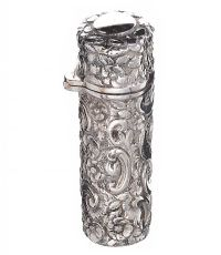 ENGRAVED STERLING SILVER PERFUME BOTTLE at Ross's Auctions