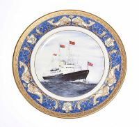 BOXED BRITANNIA COLLECTION PLATE at Ross's Auctions