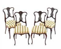 SET OF FOUR EDWARDIAN PARLOUR CHAIRS