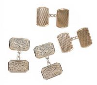 STERLING SILVER CUFFLINKS SET at Ross's Jewellery Auctions