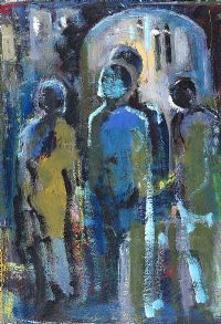 FOUR FIGURES by Selma McCormack at Ross's Auctions