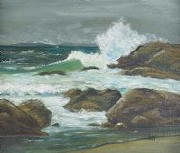 ROUGH SEAS by Bill Beavis at Ross's Auctions