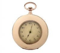 EDWARDIAN 9CT GOLD GENT'S OPEN-FACED POCKET WATCH