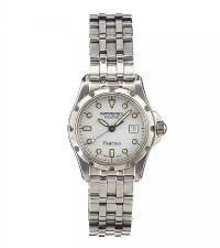 RAYMOND WEIL 'FLAMENCO' STAINLESS STEEL LADY'S WRIST WATCH at Ross's Jewellery Auctions