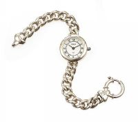 STERLING SILVER LADY'S WRIST WATCH at Ross's Jewellery Auctions