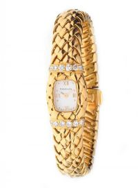 TIFFANY & CO. 18CT GOLD WATCH WITH BOX at Ross's Jewellery Auctions