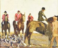 SEAFORDE HARRIERS by Cecil Maguire RUA at Ross's Auctions
