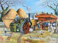 TRACTION STEAM ENGINE by Cecil Geddis at Ross's Auctions