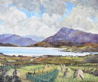 LOUGH, WEST OF IRELAND by David McConnell at Ross's Auctions