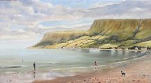 RED BAY, COUNTY ANTRIM by Desmond Reid at Ross's Auctions