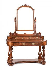 VICTORIAN WALNUT DUCHESS DRESSING TABLE at Ross's Auctions