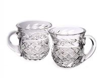 PAIR OF WATERFORD CRYSTAL HOT CHOCOLATE CUPS at Ross's Auctions