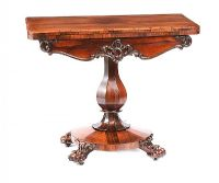 WILLIAM IV TURNOVER LEAF TABLE at Ross's Auctions