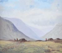 DIGGING TURF by Joan Dundee at Ross's Auctions