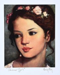 SUMMER GIRL by Ken Hamilton at Ross's Auctions